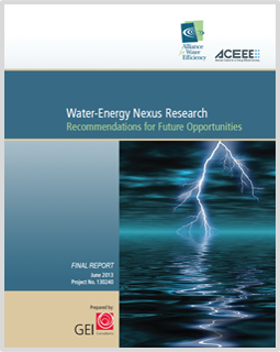 Water-Energy Nexus Research: Recommendations | Alliance for
